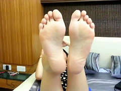 Hot Asian foot fetish fuck part 1