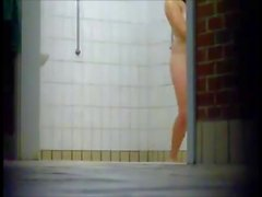 Girls taking a shower - Voyeur