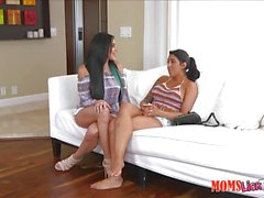 Pussy muching stepmom and step daughter Jaclyn Taylor and Lucia Lace