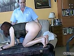 Nasty young slut gets sodomized part1