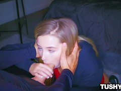 TUSHYRAW Naughty Teen Begs To Be Fucked In Her Tiny Ass