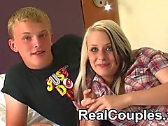 Real Couple teen Kylie and her partner Dean talk about
