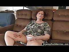 Nasty Granny seduced two girls