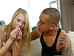 Bruno makes his cute girlfriend Lily Rader his fucking bitch