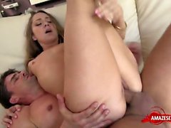 Small tits pornstar squirt with facial