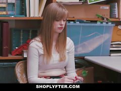 ShopLyfter - Teen Stripdowns and Fucks Loss Prevention Officer