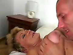 Horny Grandma With A Hairy Pussy