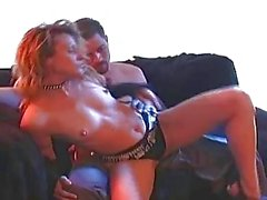 Freaky Horny Girl Strips and Gets Fucked and Facialized.