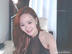 "Cute Korean Camgirl ""Bj Neat"" Sucks On Her Cum Covered Fingers"