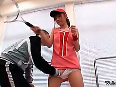 Tight Japanese teen gets her pussy part6
