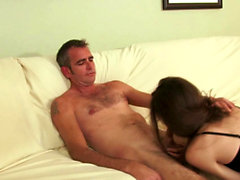 Horny girlfriend loves to get her pussy rammed