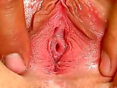 Virgin shows her hymen
