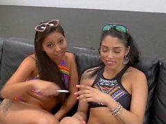 Stepteen latinas spermed
