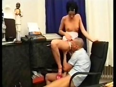 Vintage Teen Anal In Saloon