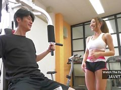 Hot Asian Teen Fucked At The Gym