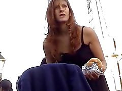 Teen mom upskirt
