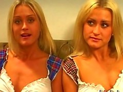 No camera tricks or fakerythese are real British twins Misha and Sasha