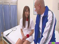 Sexy Suzu Minamoto Gets Creampied By Her Coach