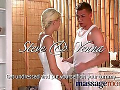 Massage Rooms - Tight teen blonde