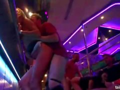 Orgy in club compilation Sex in club! Party