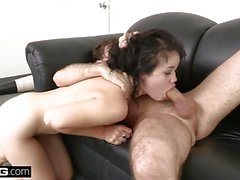 BANG Casting Yhivi fucked rough and takes facial loading