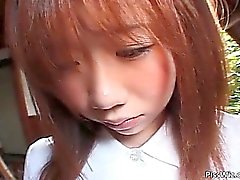 Attractive Asian teen likes to get naked part3