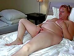 OldNanny Hot stepmom lesbian fuck with strapon