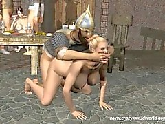 3D Animation: The Vikings Orgy