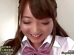 Japanese Girls entice lubricous private teacher public.avi