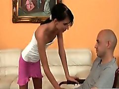 Olah Zsofia fucks an amputee in a wheelchair