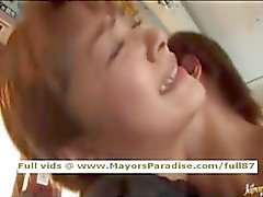 Mihiro innocent Chinese girl enjoys a fucking on the bus
