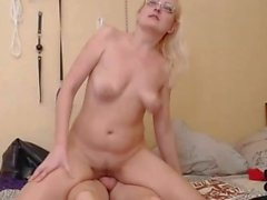 Latvian Blonde Babe Gets Facial After Getting Fucked