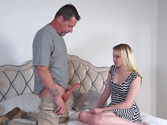 Seducing a stepdad feels so good