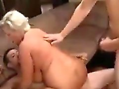 Busty Cougar Double Penetrated