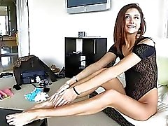 Jody Anal Fingering Beautiful And Very Leggy Teen