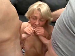 Double penetration group sex