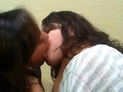 Amateur teens having hot lesbian fun