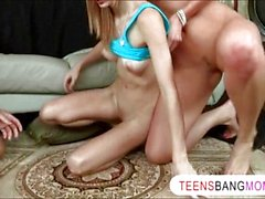 Samantha Ryan loves to join teen couple