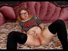 - 18yo hot redhead with glasses 3