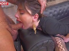 LETSDOEIT - Horny Teen Gets Fucked To Her Limit By Hot Cock
