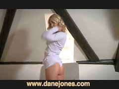 DaneJones Incredible nubile blonde orgasms with toy