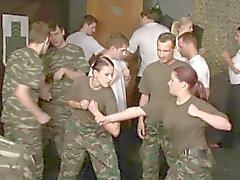 Army bisex party