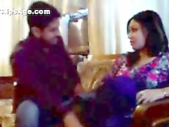High society Pakistani lady Alisha Ali having fun with a young guy whom she met in pub Part ONE