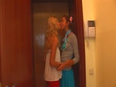 Love and latvian licking between teens