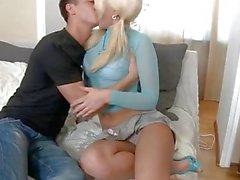 Licking and fucking a sexy blonde