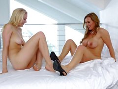 Horny Tanya Tate And Alli Rae
