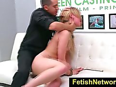 FetishNetwork Abby Paradise cock gagging