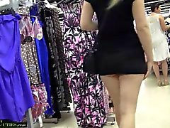 MallCuties Two amateur girls have sex in shop