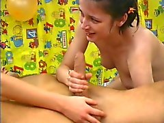So great 3young cute girls for 2 boys must see