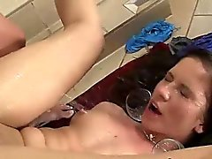 Jessica Rox and Anita B eat pussy for hot piss